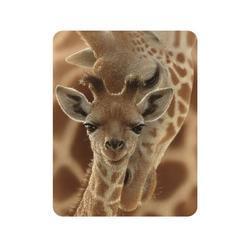 Magnet 3D 7x9cm - žirafa (25)