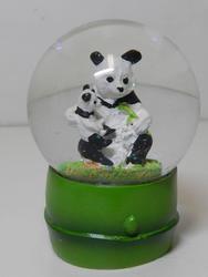 Sněžítko 9cm - pandy(12ks/bal)