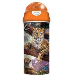 Láhev na pití 3D - leopardi, 500ml (6)