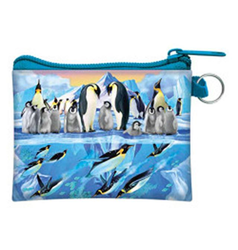 Kapsička 3D 11x8cm - tučňáci na ledě (5)