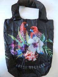 Nákupní taška recyklovaná ptáci 44x41x12cm