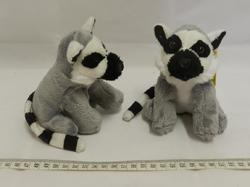 Lemur plyš sedící 14cm