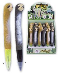 Pero lenochod strečový 20cm, 2druhy (24ks/bal)