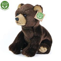 Medvěd sedící plyš 25cm