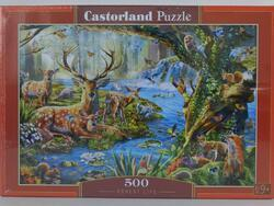 Puzzle 500 dílků - Život v lese