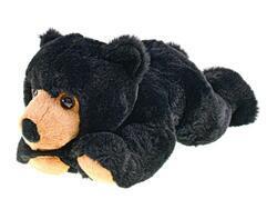 Medvěd plyšový 32cm ležící 0m+ v sáčku