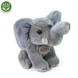 Slon sedící plyš 18cm