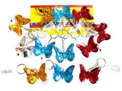 Klíčenka motýl, 3barvy (12)