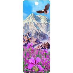 Záložka 3D 15,5x5,7cm - hory s orlem