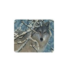 Magnet 3D 7x9cm - vlk v zimě (25)