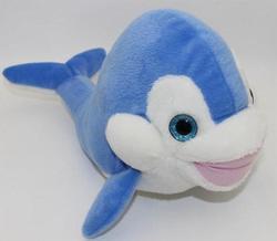 Delfín plyš 35cm, třpytivé oči (6)