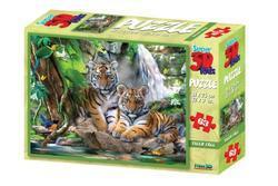 Puzzle Tygři 63 dílků(6)