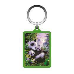 Klíčenka 3D 5x6cm - pandy (10)