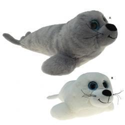Tuleň plyš 20cm, velké oči, 2druhy (12)