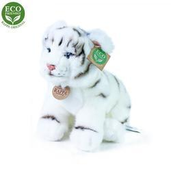Tygr bílý sedící plyš 25cm