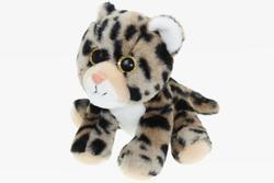 Leopard sedící, plyš 20cm (3)