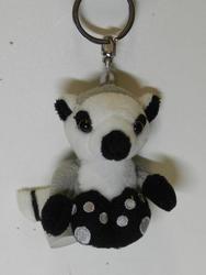 Klíčenka lemur plyš 6cm(12)