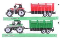 Traktor s vlečkou, 2dr