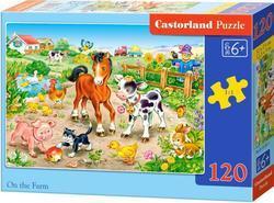 Puzzle farma 120dílků