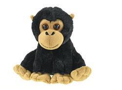 Orangutan sedící plyš 18cm