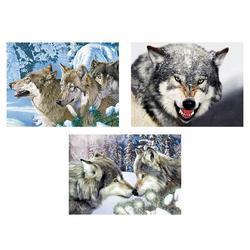 Obrázek 3D měnící 50x35cm - vlci