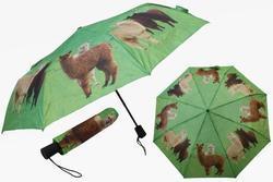Deštník skládací 29cm - alpaka (12)