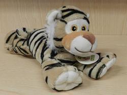 Tygr ležící plyš 22cm