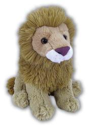 Lev sedící plyš 28cm