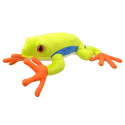 Žába listovnice červenooká plyš 30cm(6ks/bal)