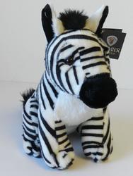 Zebra sedící plyš 28cm