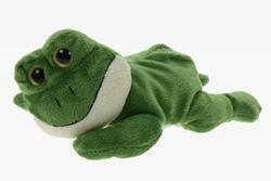 Žába ležící, plyš 22cm