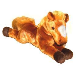 Kůň plyš ležící 30cm, 2druhy