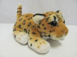 Leopard hnědý plyš měkký ležící 20cm (130/karton) - 1