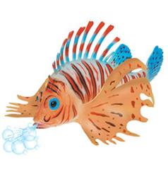 Ryba perutýn do vany, stříkací, plast 25cm (12)