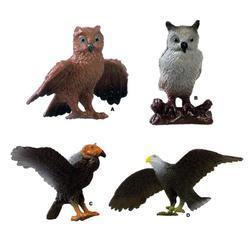 Draví ptáci 7cm plast, 4dr