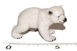Medvěd lední mládě 6,5cm
