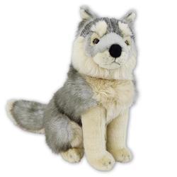 Vlk sedící plyš 30cm