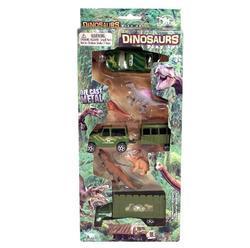 Dinosaurus & vozidlo 3ks - 2