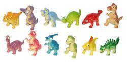 Dinosauři veselá zvířátka, set 6ks v sáčku - 2