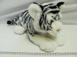 Tygr bílý plyš 30cm - 2