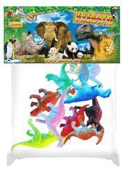 Dinosauři v sáčku 10ks, plast - 2