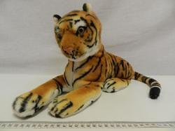 Tygr hnědý plyš 45cm (48ks/karton) - 2