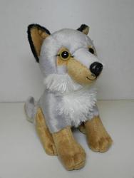 Vlk sedící, plyš 20cm - 2