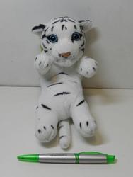 Tygr bílý na zádech plyš 20cm (130/karton) - 2