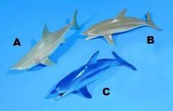 Zvířata mořská (žralok,delfín) pískací(24) - 2