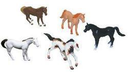 Koně v sáčku plast, set 6ks - 2